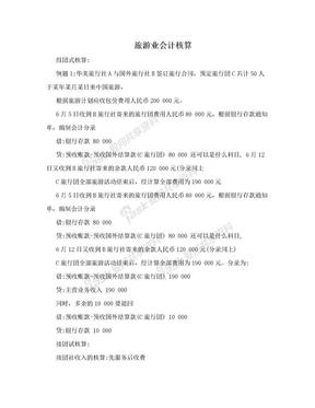 旅游业会计核算.doc