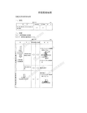 焊接检验标准.doc