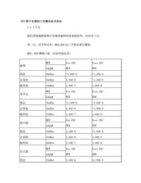 DTV数字电视测试详细介绍.doc