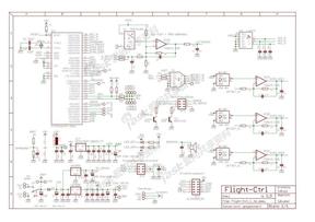 MikroKopter四轴飞行控制板原理图v1.3.pdf