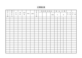订单统计表.doc