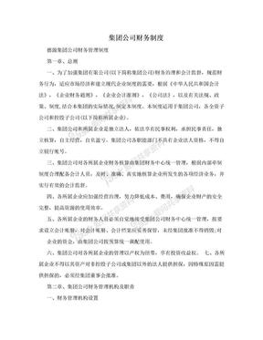 集团公司财务制度.doc