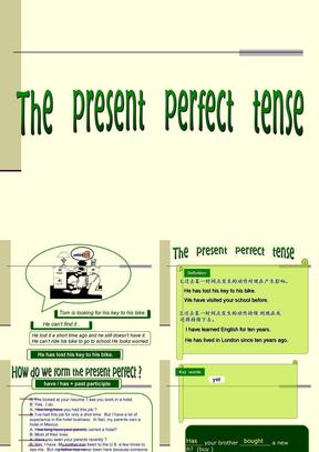 2629初中英语语法复习——现在完成时课件.ppt