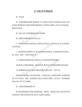 公司财务管理制度范本.doc