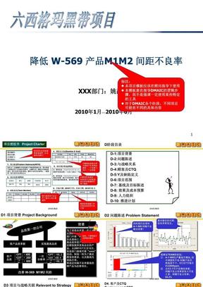 DMAIC_Project_Template_范例(六西格玛流程指导).pptx