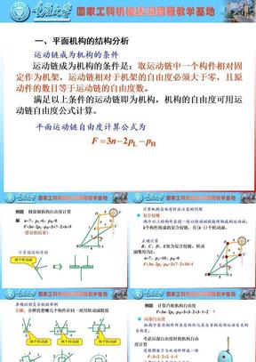 机械原理研复习(2008).ppt