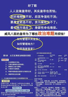 必修一从汉至清政治制度的演变.ppt