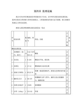 仪器设备一览表.doc