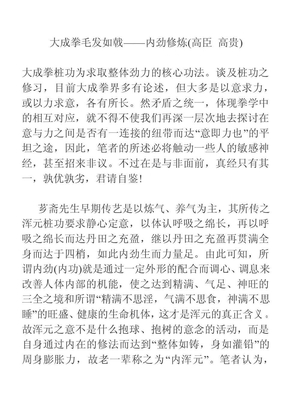 大成拳内劲修炼.pdf