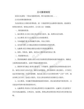 公司报销制度.doc