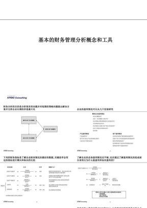 财务分析培训(毕马威).ppt