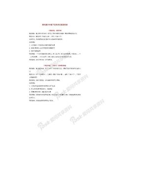 教科版六年级下册科学实验报告单_1603688085.doc