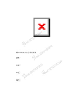 锅炉汽温壁温专项管理细则(2018.06.21)