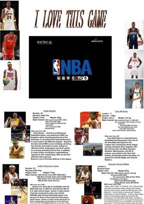 英文介绍NBA球星.ppt