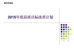 2015年度品质目标改善计划.ppt