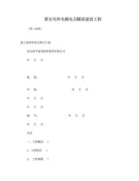 强制性条文执行计划.doc