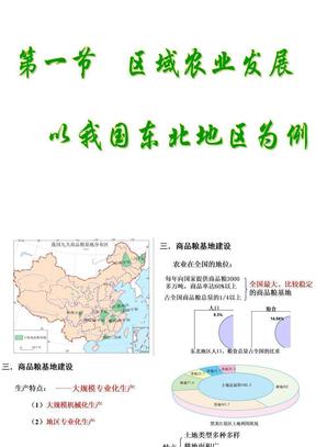 公开课  芳 区域农业发展2.ppt