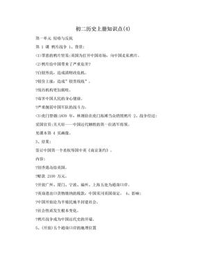 初二历史上册知识点(4).doc