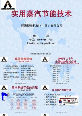 实用蒸汽节能技术(2009.08.1).ppt