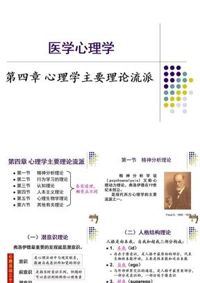 第4章_心理学主要理论流派.ppt
