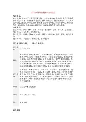 2014年图兰朵计划详细介绍.doc