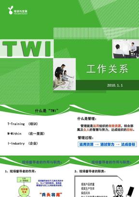 TWI-工作关系(JR)好.ppt