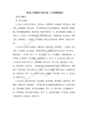 释延王洗髓经WORD版(含图微缩版).doc