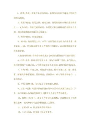 食物相克列表.doc