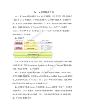 Netty实现原理浅析.doc