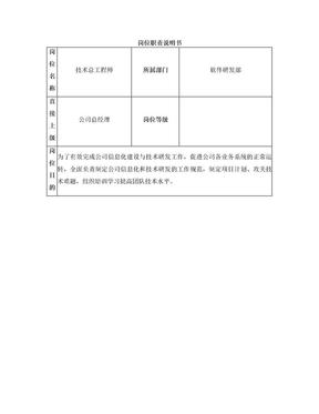 技术总工程师岗位职责.doc