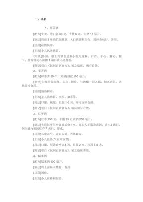 【保健药酒配方大全】.doc