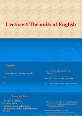 英语语言学实用教程课件Unit4-6.ppt
