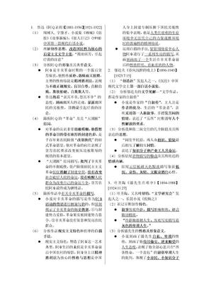 00530《中国现代文学作品选》复习资料.doc