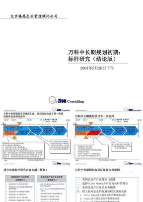 万科中长期规划初期:标杆研究(结论版)J2.ppt