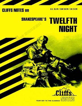 Twelfth Night.pdf (Cliffs Notes English 原典英语小说学习笔记)