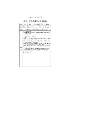 小学数学教研组活动记录.doc