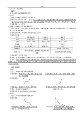北师大版八年级上册物理知识点总结.doc
