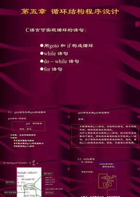 5.C语言循环结构.PPT