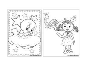 儿童填色画(打印版).doc