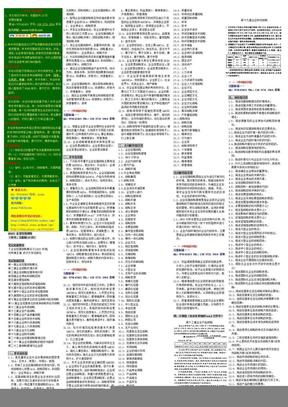 自考笔记.自考小抄..㊣.00151.企业经营战略概论--终极版.doc
