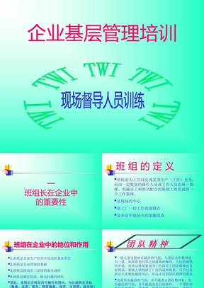 《企业基层管理培训》PPT课件.ppt