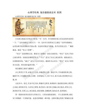 心理学经典 鬼谷揣情说话术 组图.doc