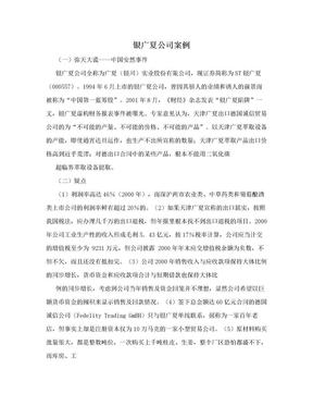 银广夏公司案例.doc