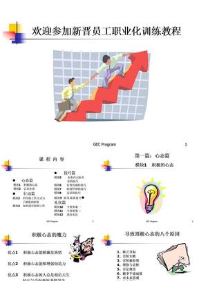 新晋员工职业化训练教程.ppt