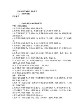 招商部组织架构及岗位职责.doc