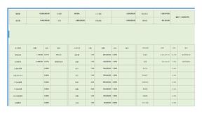 淘宝天猫电商预算表格财务模板全年计划表格.xlsx
