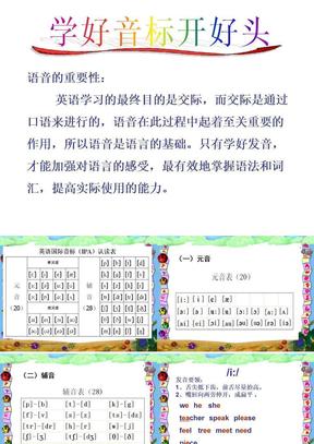 48个英语音标教学课件.ppt