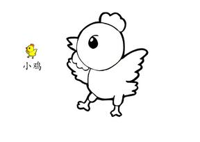 幼儿卡通涂画(可对照).doc