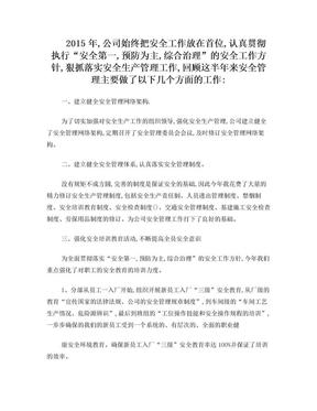 2016安全生产年终总结.doc