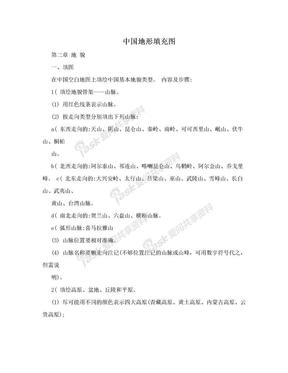 中国地形填充图.doc